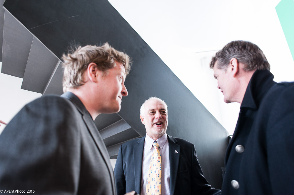 Stephen Lloyd MP, David Tutt and Will Callaghan TechResort at Towner