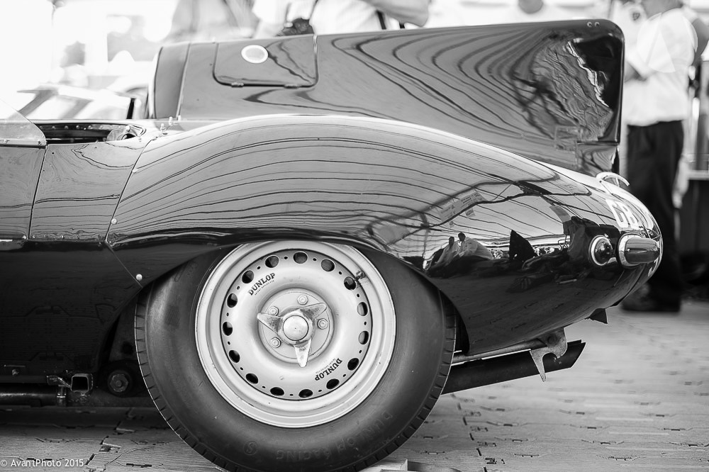 Tail fin Jaguar D-Type long nose