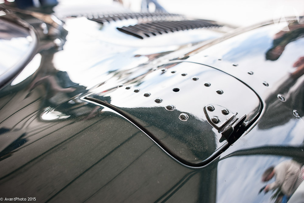 Panel rivets Jaguar XJ13
