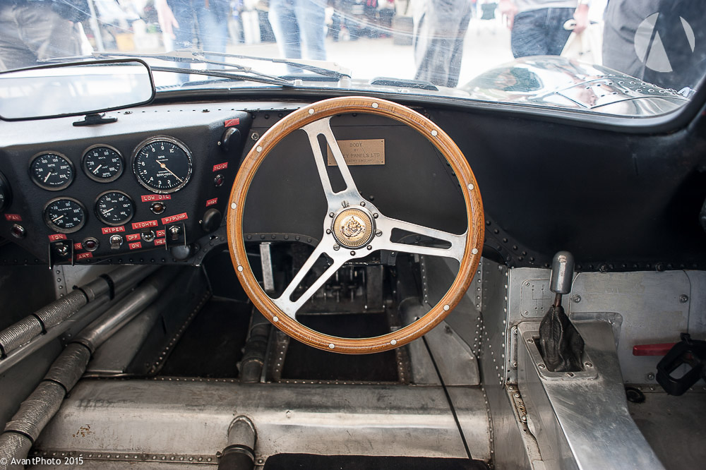 Drivers view 1966 Jaguar XJ13