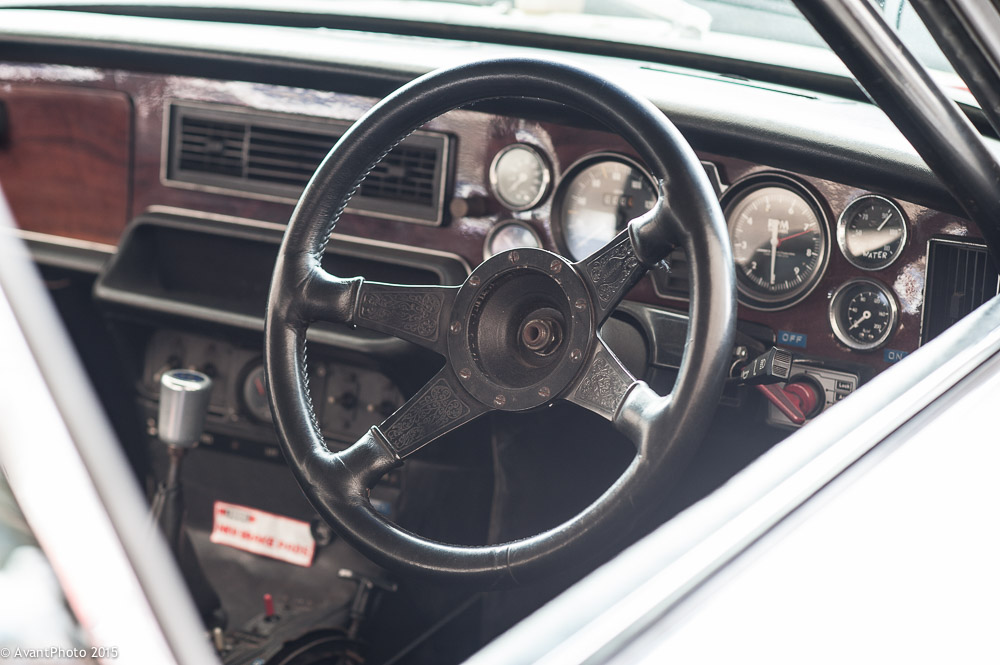 Jaguar XJ12C cockpit