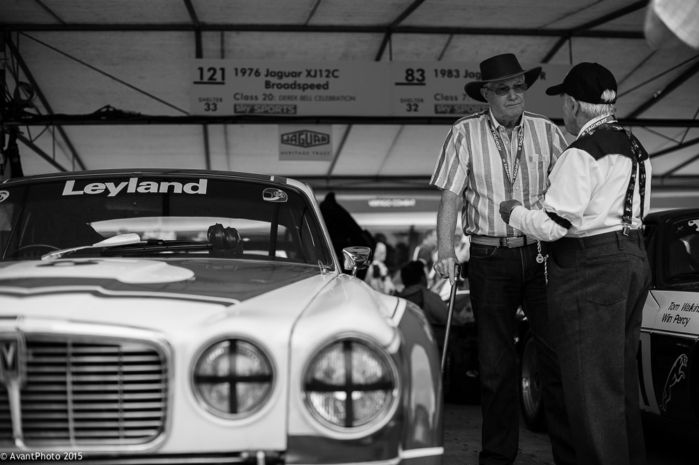 legends at Goodwood Festival od Speed