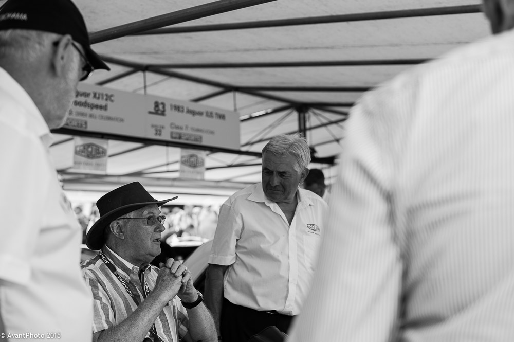 Winn Percy - Racing Legend - Goodwood 2015