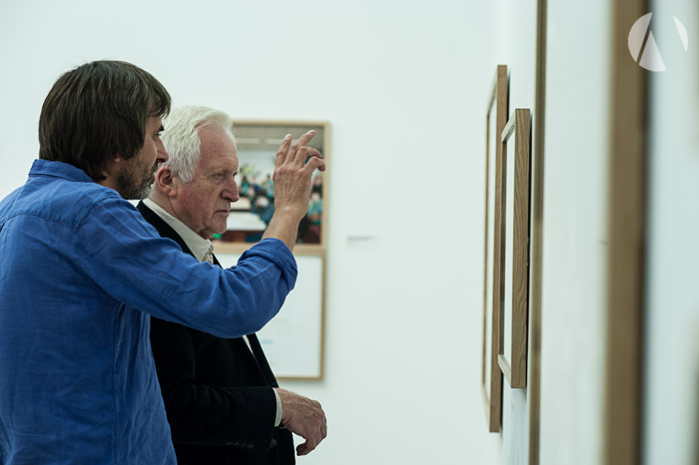 Julian Germain & David Dimbleby at Towner Gallery Eastbourne