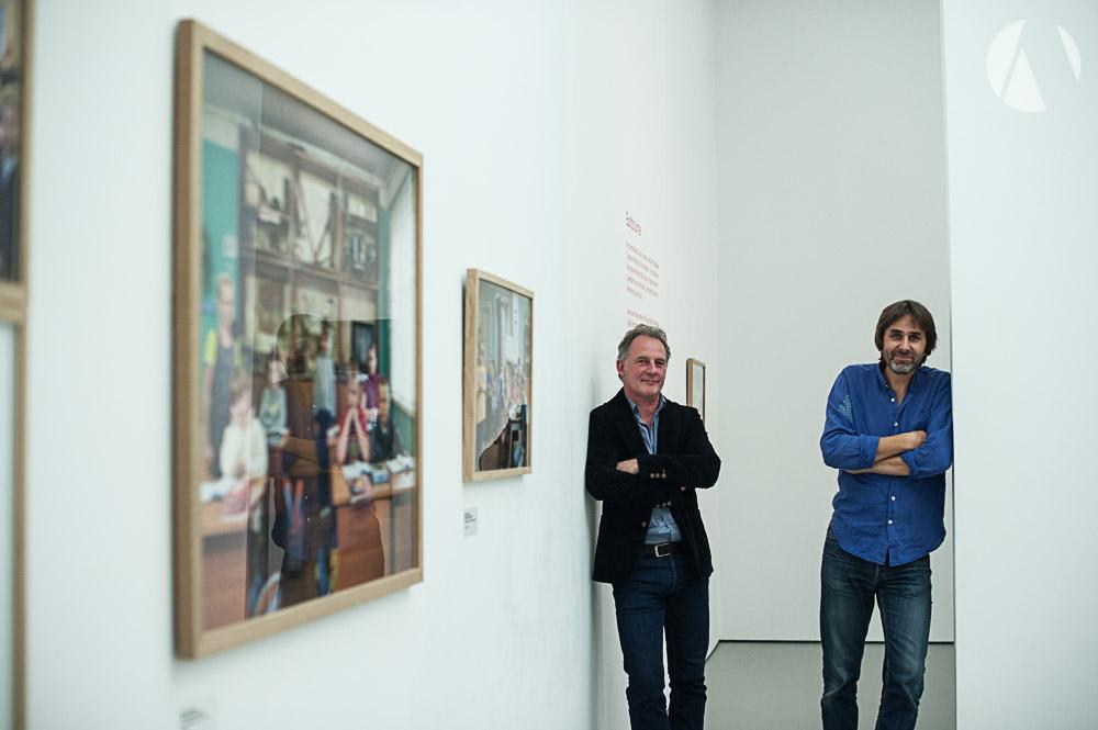 Julian Germain - Photographer & Frits Gierstberg Curator Nederlands Fotomuseum