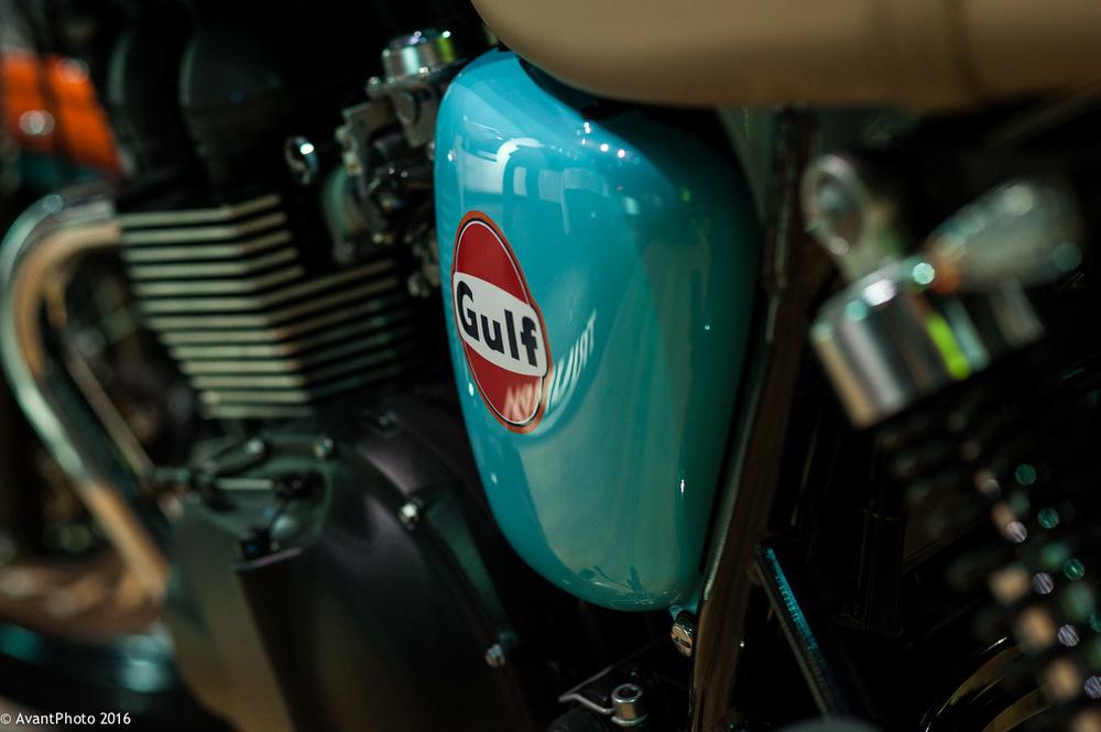 Triumph Bonneville Gulf Edition