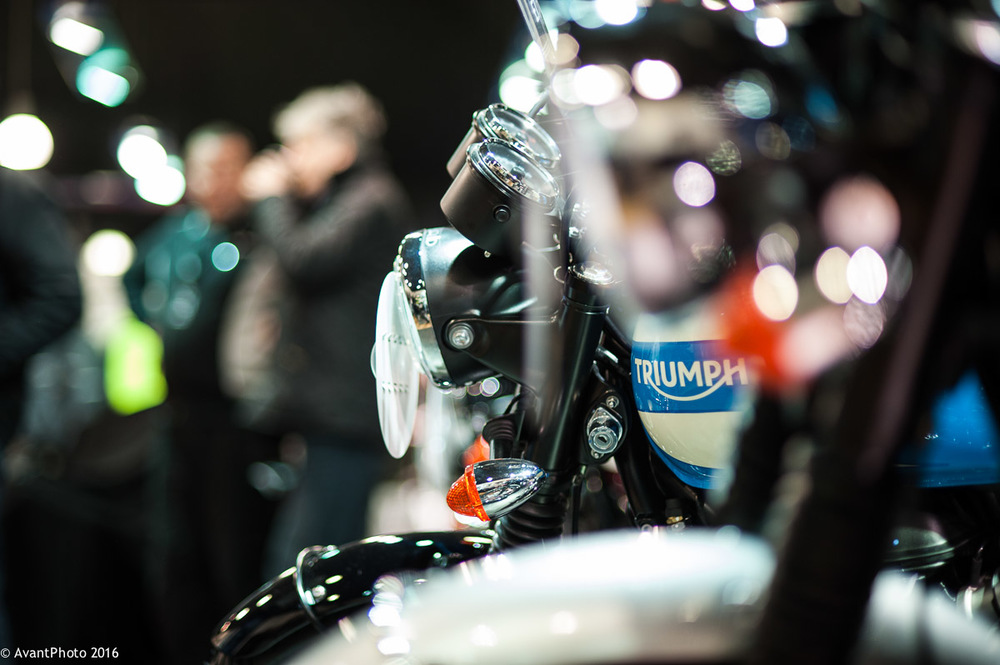 Triumph Bonneville - Launch event