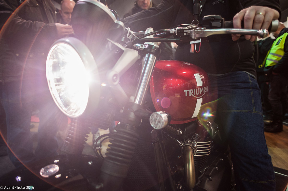 Triumph Street Twin Red