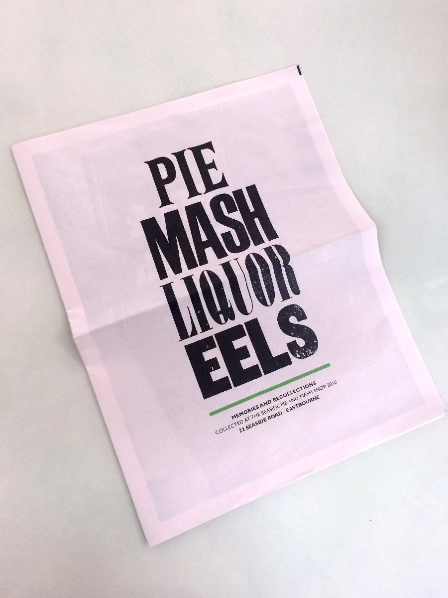 Pie & Mash Paper