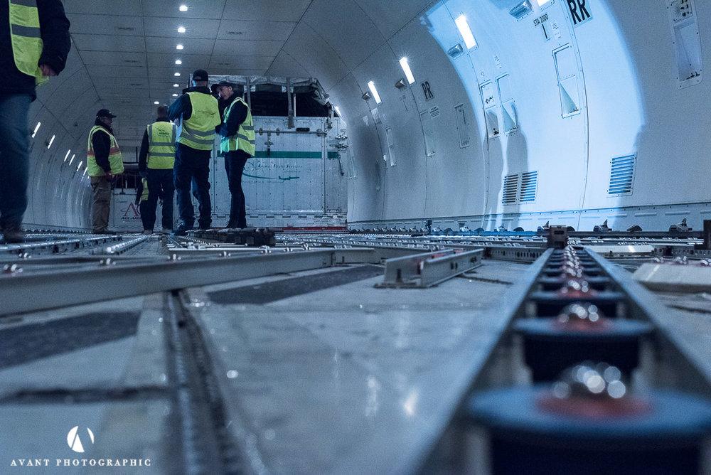 inside the Boeing 747C