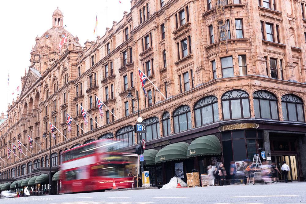 Harrods London Bus