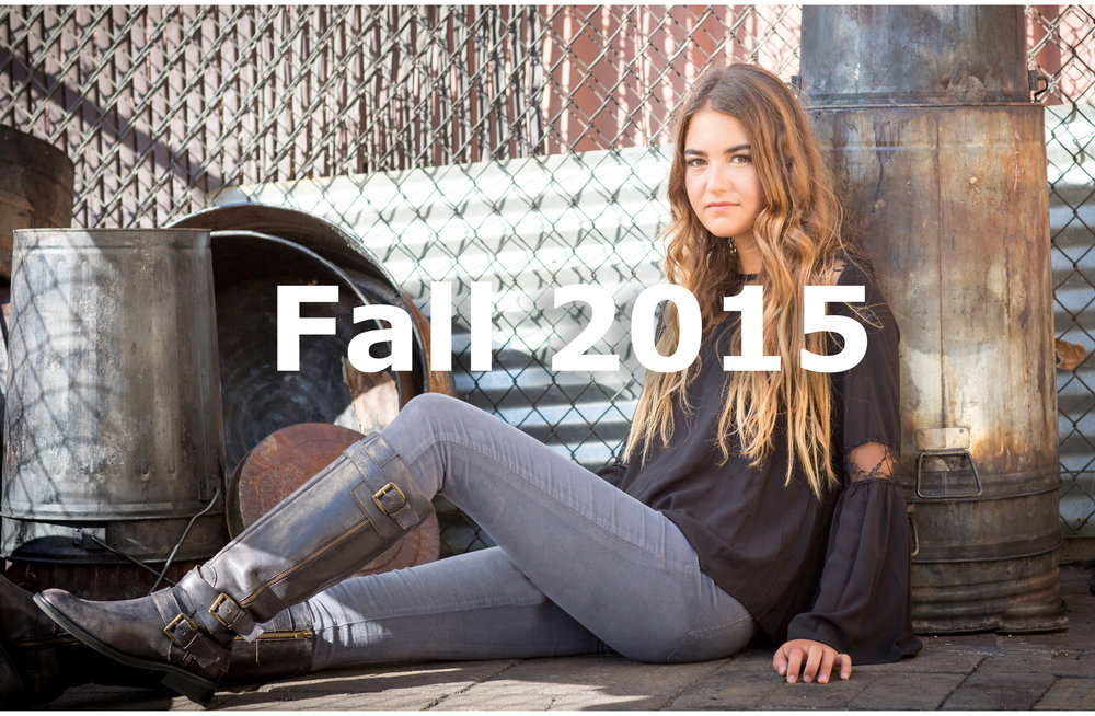 View the Fall 2015 Lookbook