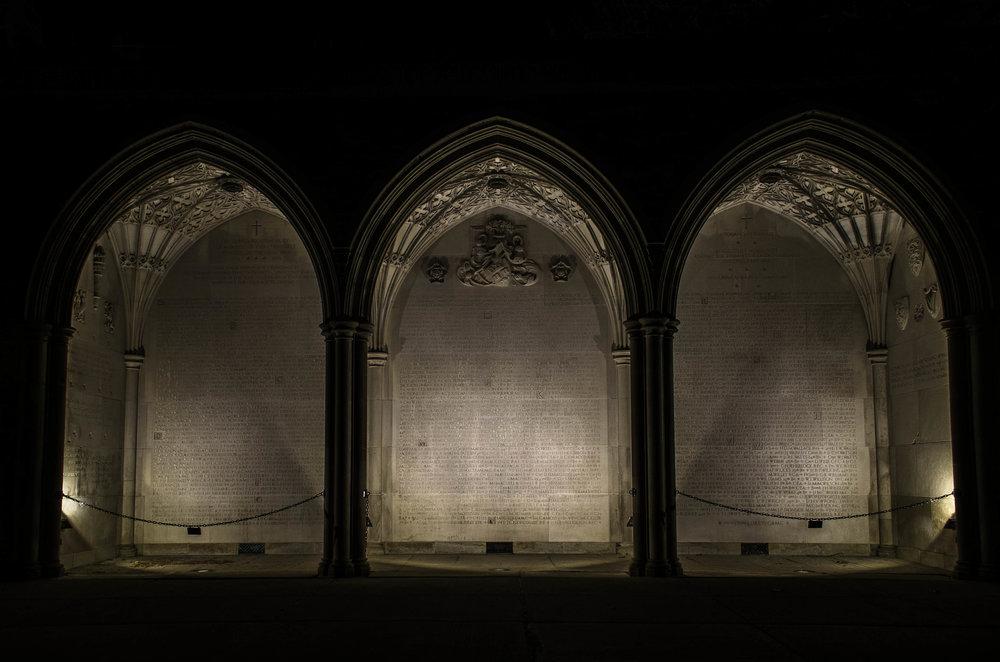 WWI Memorial Wall