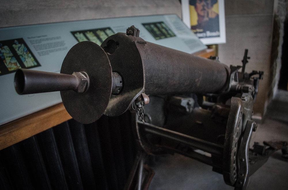 WWI German Machine Gun