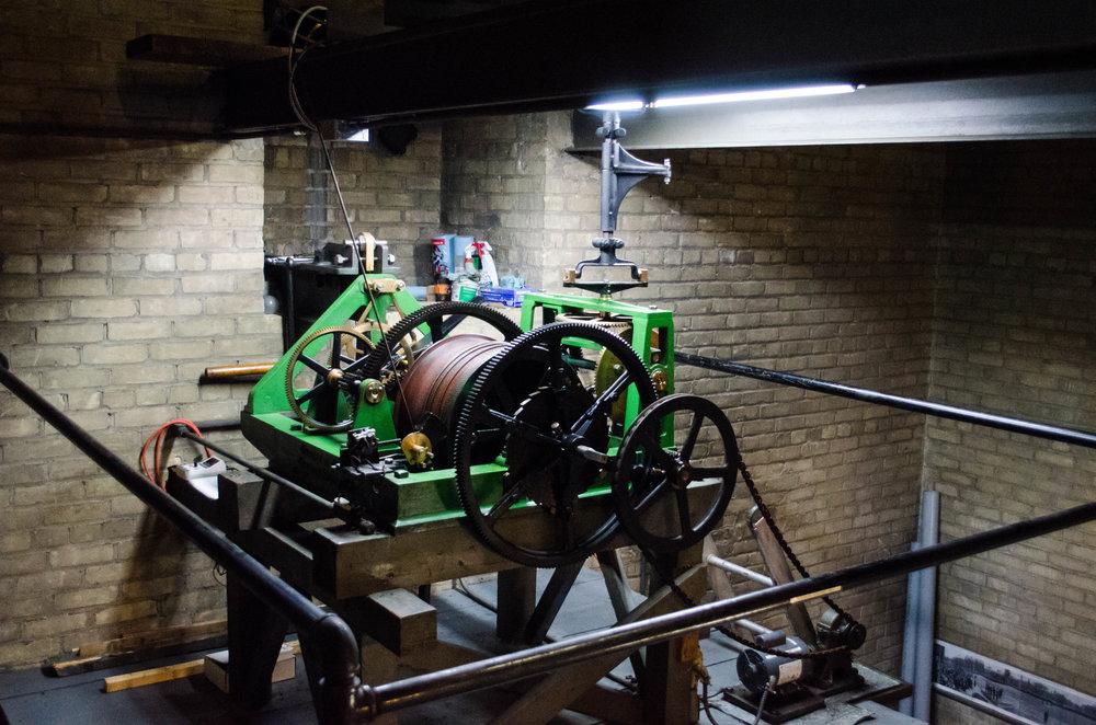 Mechanical Clock Mechanism