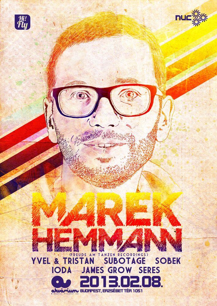 Marek Hemmann flyer