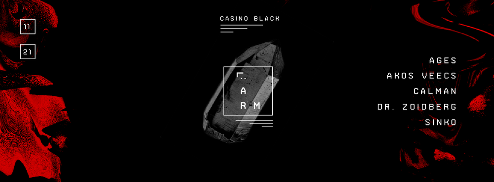 ■ LÄRM ■ Casino Black ■