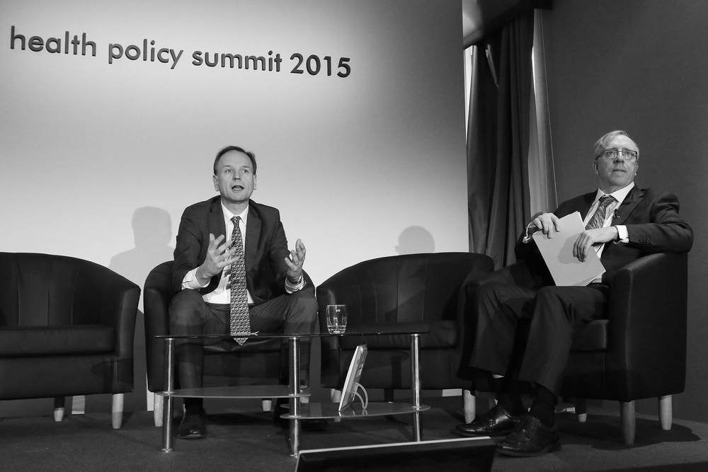Simon Stevens in conversation with Nigel Edwards