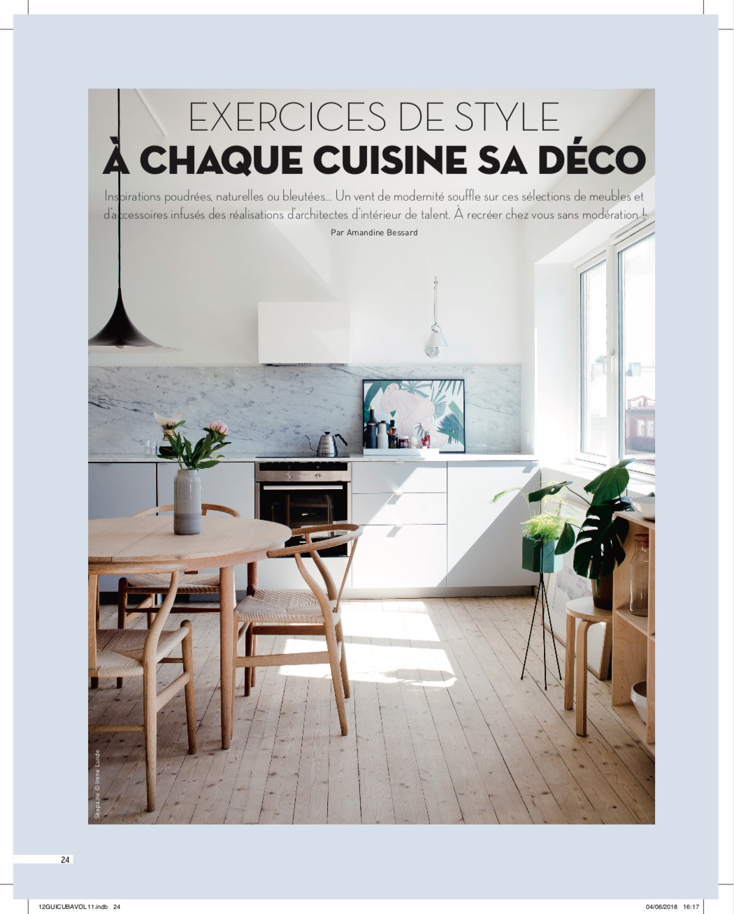 Our Ridgewood Project In French Magazine Cuisine Bains