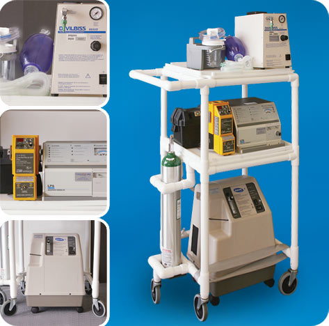 Mobile Respiratory Station Model MRS42