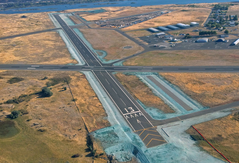 Columbia Gorge Regional/The Dalles Municipal Airport Runway 12-30 | Klickitat County, Washington