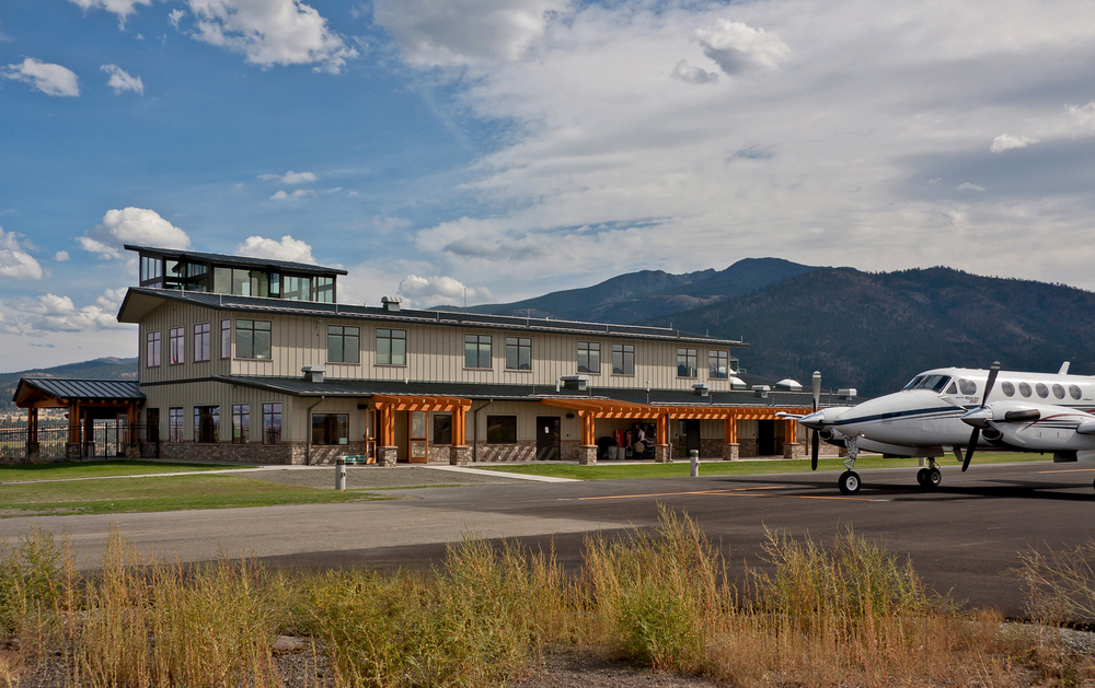 Grant County Regional Airport Joint Use Terminal and New Apron | John Day, Oregon