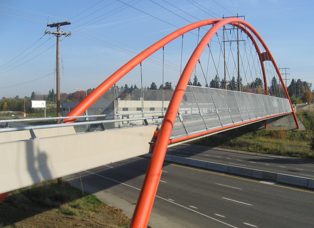 Springwater Trail Pedestrian Bridges | Portland, Oregon