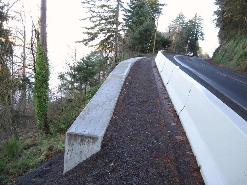 US Highway 30 Retaining Wall | ColumbiaCounty, Oregon