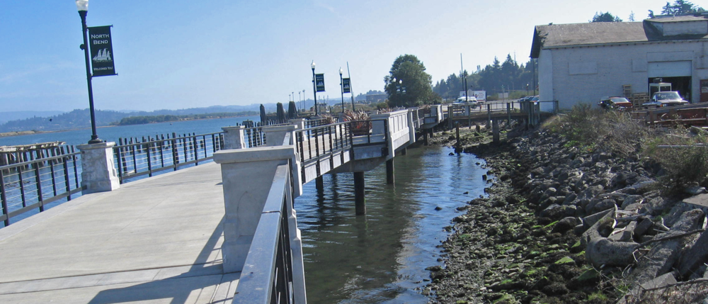 North Bend Waterfront (Harbor Avenue) Elevated Pier |   North Bend  , Oregon