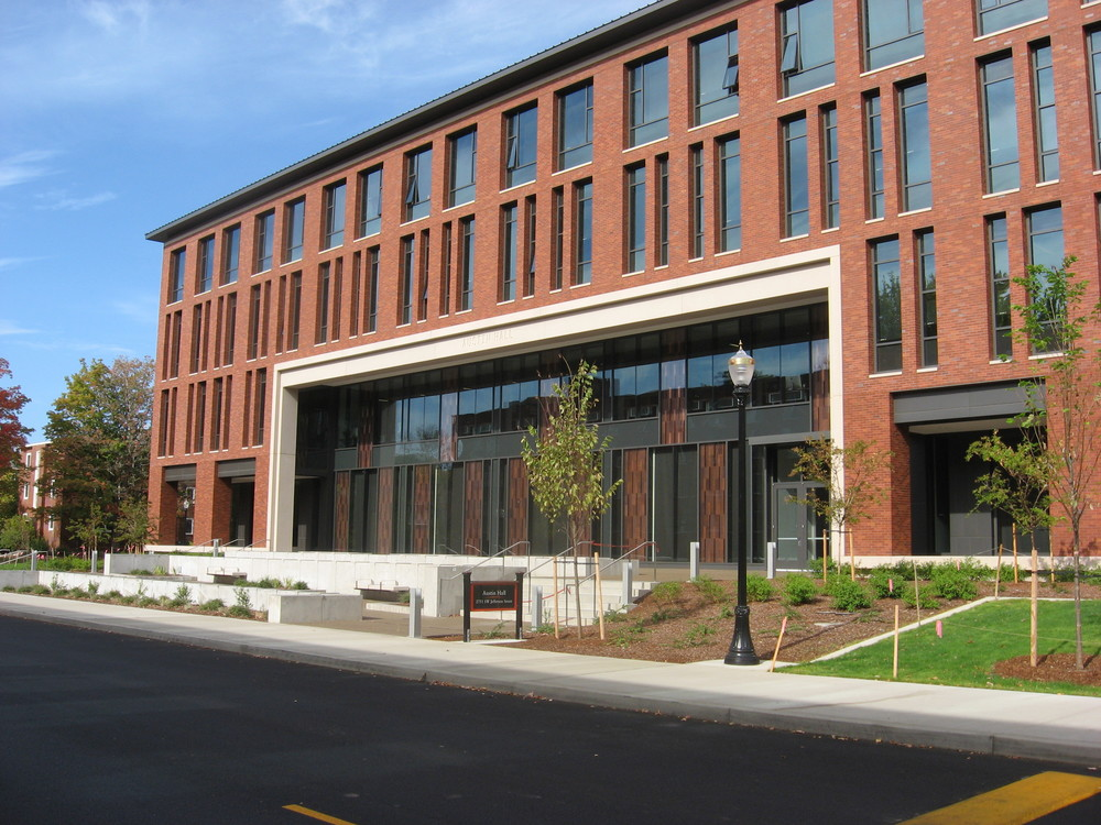Austin Hall Business Building