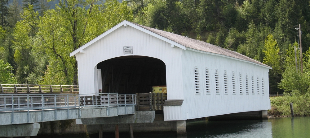 Lowell Covered Bridge | Lowell, Oregon