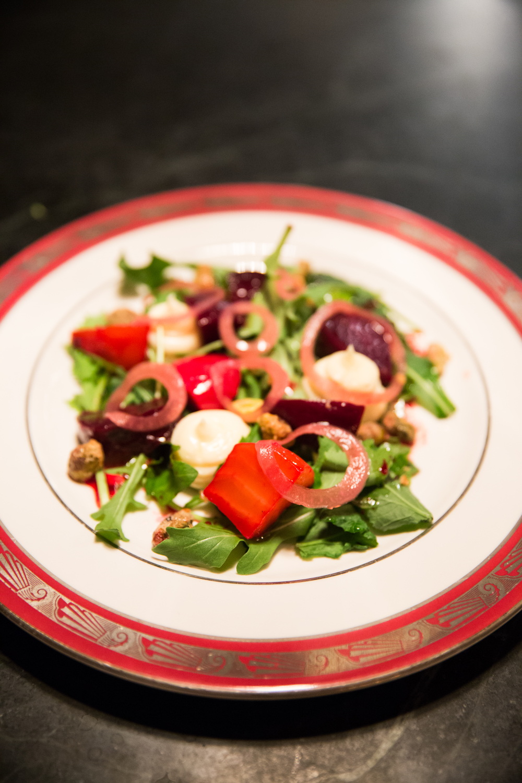 A salad at The Backroom