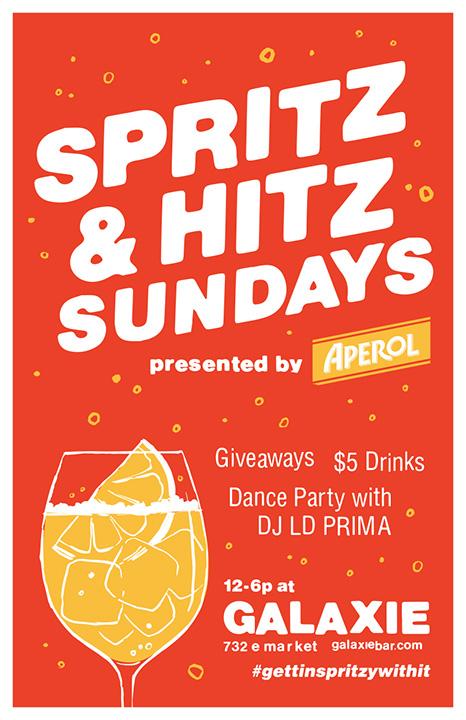 Spritz & Hitz Promotional Poster