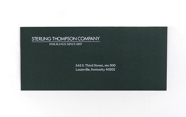 Custom Green Return Envelope