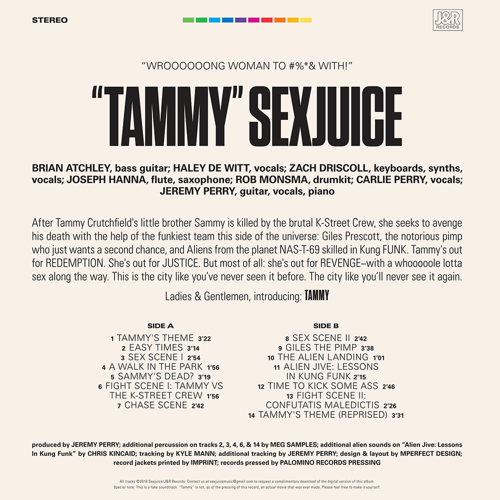 SEXJUICE back cover