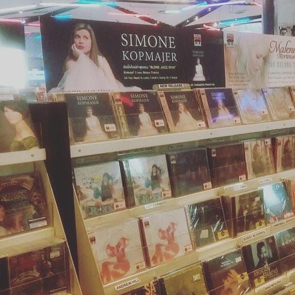#goodoldtimes out now in Thailand #newalbum #instoresnow #hitmanjazz #simonekopmajer