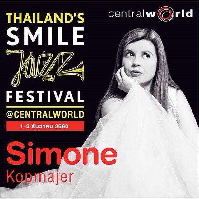 Tomorrow at #smilejazzfestival #centralworldbangkok ! #thailand #goodoldtimes #presentingthenewalbum
