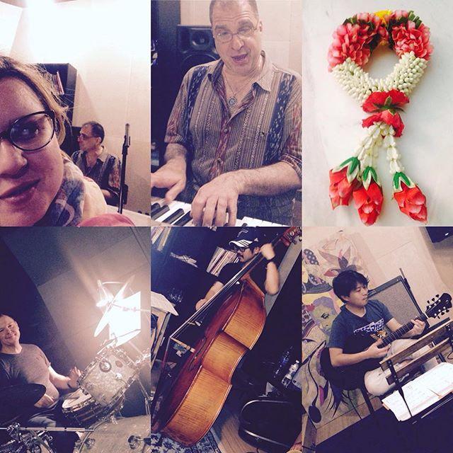 Impressions #bangkok #day1 #rehearsal #johndimartino #goodoldtimes #newalbum #hitmanjazz