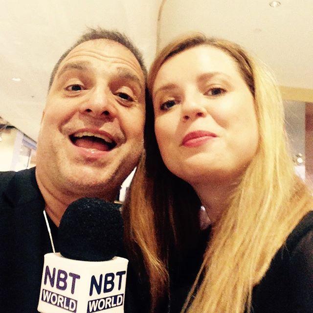 TV Interview for #nbt with #johndimartino #longtimemusicalcollaboration #goodoldtimes #kingsongs #smilejazzfestival