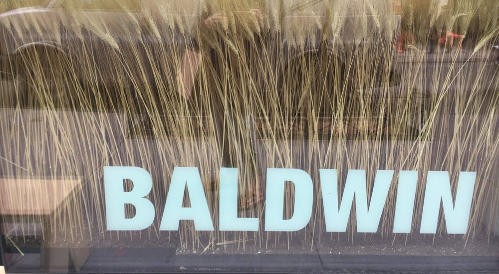 Outside Baldwin's NYC location