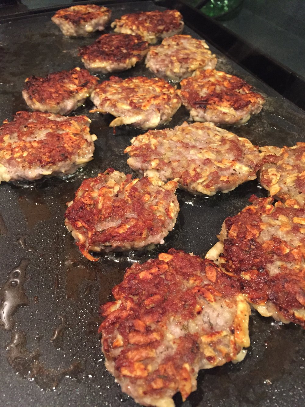 Pork Patties with Sweet Potatoes for the Autoimmune Protocol