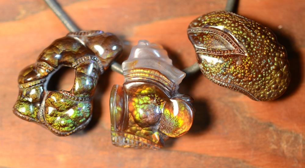 FIREWRAP  pendants gallery