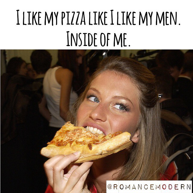 I'll take a side of man with my pizza thanks. 🍕👨🏽🦄 #pizza #men #dating #love #humour #humor #quotes #laugh #datingjokes #eating #foodie #relationships #relationshipgoals #women #tbt #whtr #whateverhappenedtoromance
