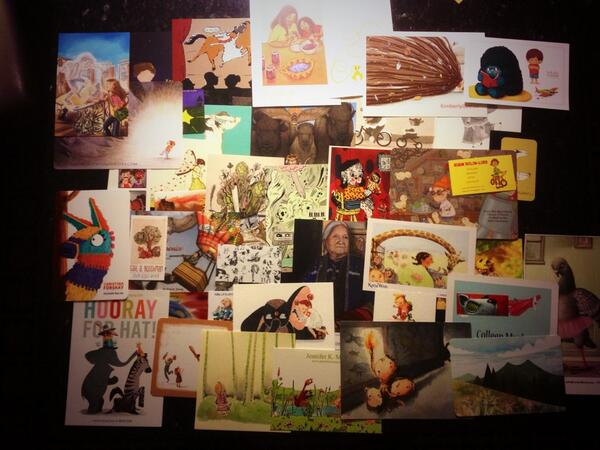 Here are just a  few  postcards I took home from SCBWI's LA conference in 2013.