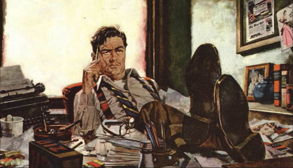 If I don't manage my competing priorities, my office would look like this. I would like to believe that is a spitting image of me, but sadly, it is not. Art courtesy of Albert Dorne.