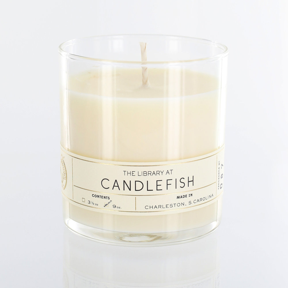 Candlefish Library Candle $22  @shopcandlefish  //  candlefish.com