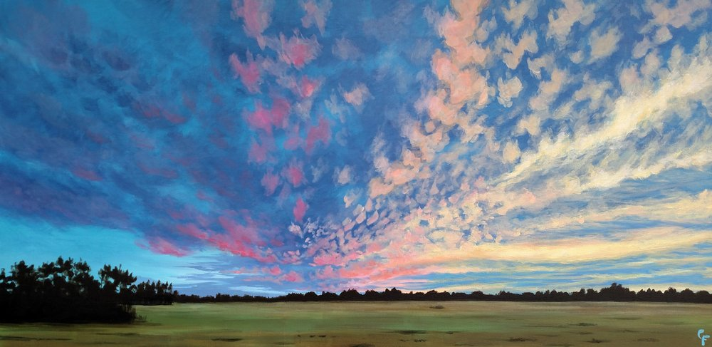 """November Confetti Sky"" by Catherine Freshley"