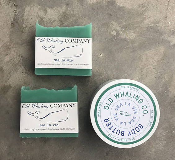 "Old Whaling Company ""Sea La Vie"" Gift Set, $20  @oldwhalingco  //  oldwhalingcompany.com"