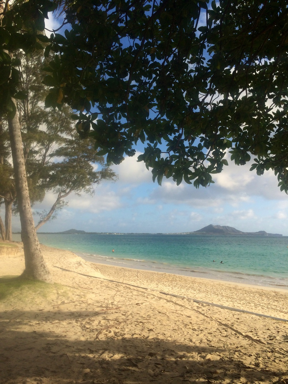 This is home. Kailua Beach