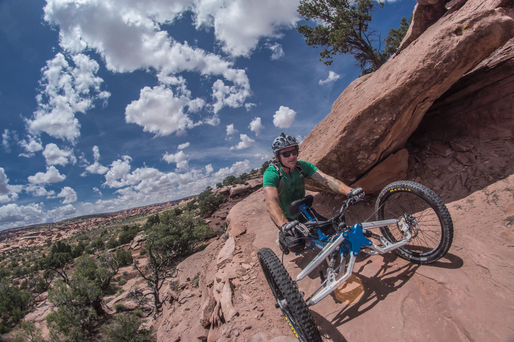The terrain in Moab is so unique and I fell in love with it. If you haven't, you must. Photo by Jeff Fox (@foxonarock)